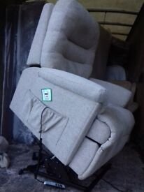 Quality Sherbourne Electric Rise And Recliner Armchair Free local delivery