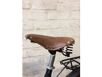 Tradtional leather saddle