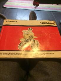 Owners manual Honda