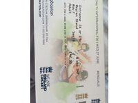 £46 England v Australia T20 cricket 27th June tickets