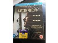 Captain phillips blue ray sealed tom hanks dvd