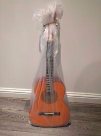 As New Condition 3/4 Size Classical Guitar - Perfect For Young Beginners
