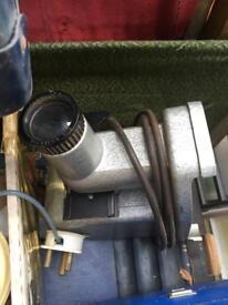 Polaroid, projector and cine editor