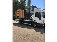 24/7 CHEAP CAR VAN RECOVERY TOW TRUCK TOWING VEHICLE BREAKDOWN TRAILER 4/4 CARVAN TRANSPORT SCRAP