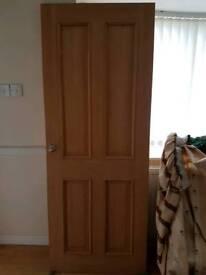 Hardwood door - FREE