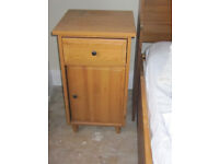 Wardrobe, 2 bedside tables, dressing table and mirror