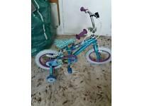 "Disney frozen girls bike 14"""