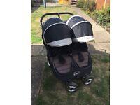 City mini double pushchair / stroller