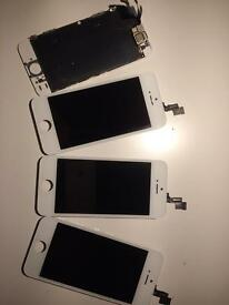 iPhone 5s I repaired screens for 39£ I have the original screens. not Chinese fake