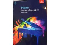 ABRSM Piano Grade 5 Scales & Arpeggios