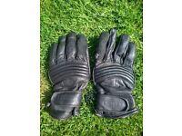 Vintage APACHE Leathers Motorbike Leather Gloves