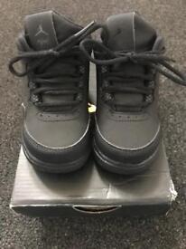 Black Children's Nike Air Jordan's Flights