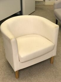 Office tub chair (Couple of light stains (see photo) but otherwise in a good condition)