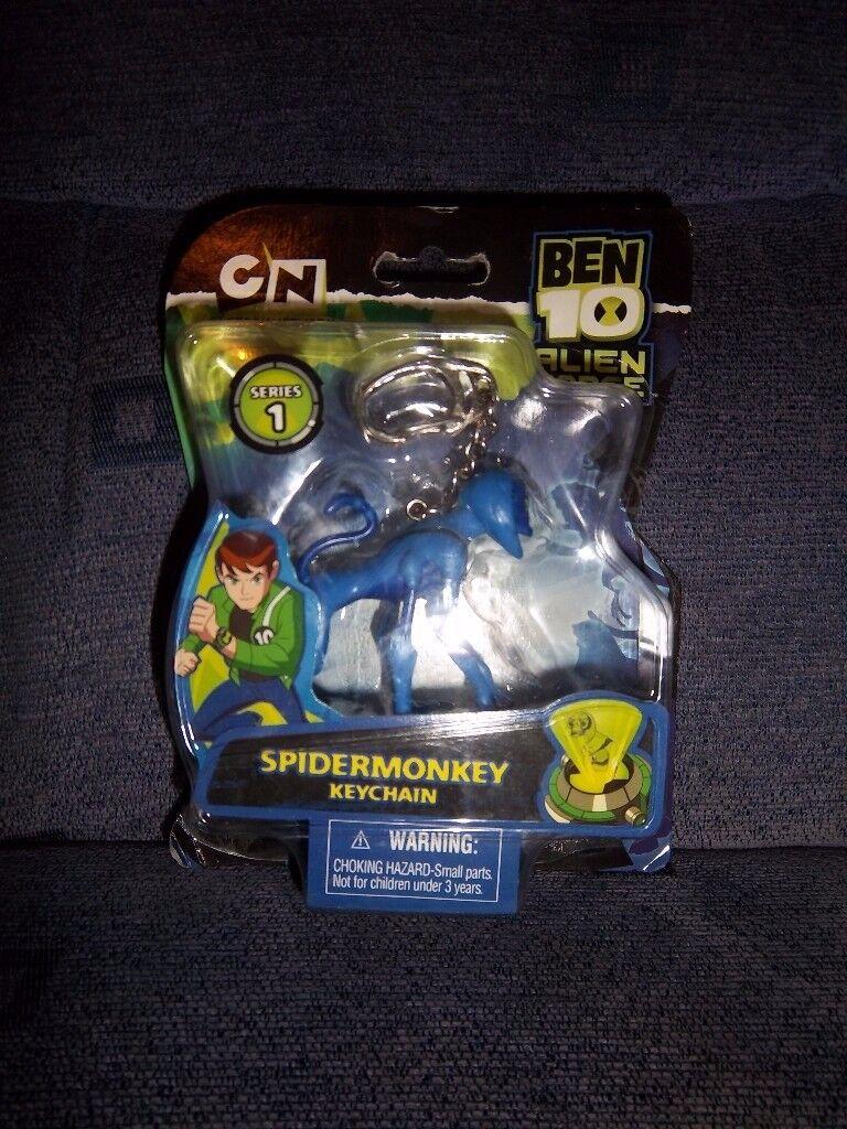 New Ben 10 Spidermonkey Keychain IP1