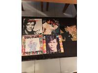 """David Bowie vinyl 7"""" singles(5 in total)"""