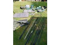 Fishing tackle joblot bundle carp
