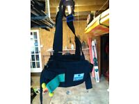 Diving weight harness.