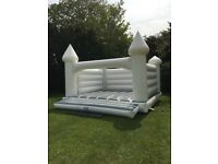 White Wedding Bouncy Castles To Hire