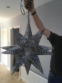 Large star light fitting