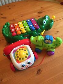 x3 Fisher Price toys