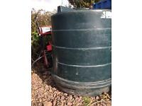 5000 litre pvc tank with free pump