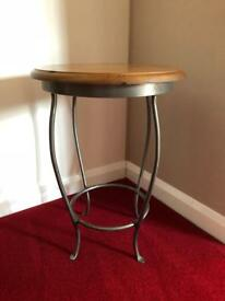 Ducal Winchester Forge Lamp Table