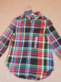 Brand New tags on Boys Ralph Lauren Dress Shirt