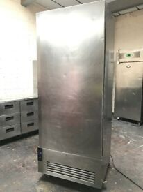 Foster commercial single door freezer, wide freezer