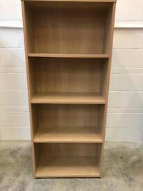 Bookcase height 65 inches width 27 inches depth 12 inches