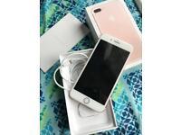 IPhone 7 Plus rose gold 32gb unlocked