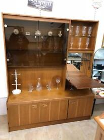 Wooden large wall unit