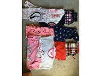 Girls pyjama bundle 9-11 years