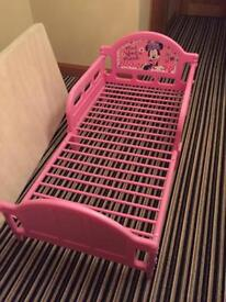 Girls junior mini mouse bed