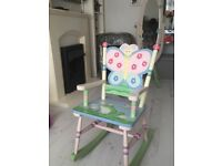 The magic garden rocking chair