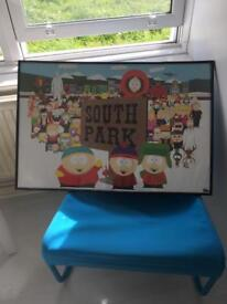 South park wall frame