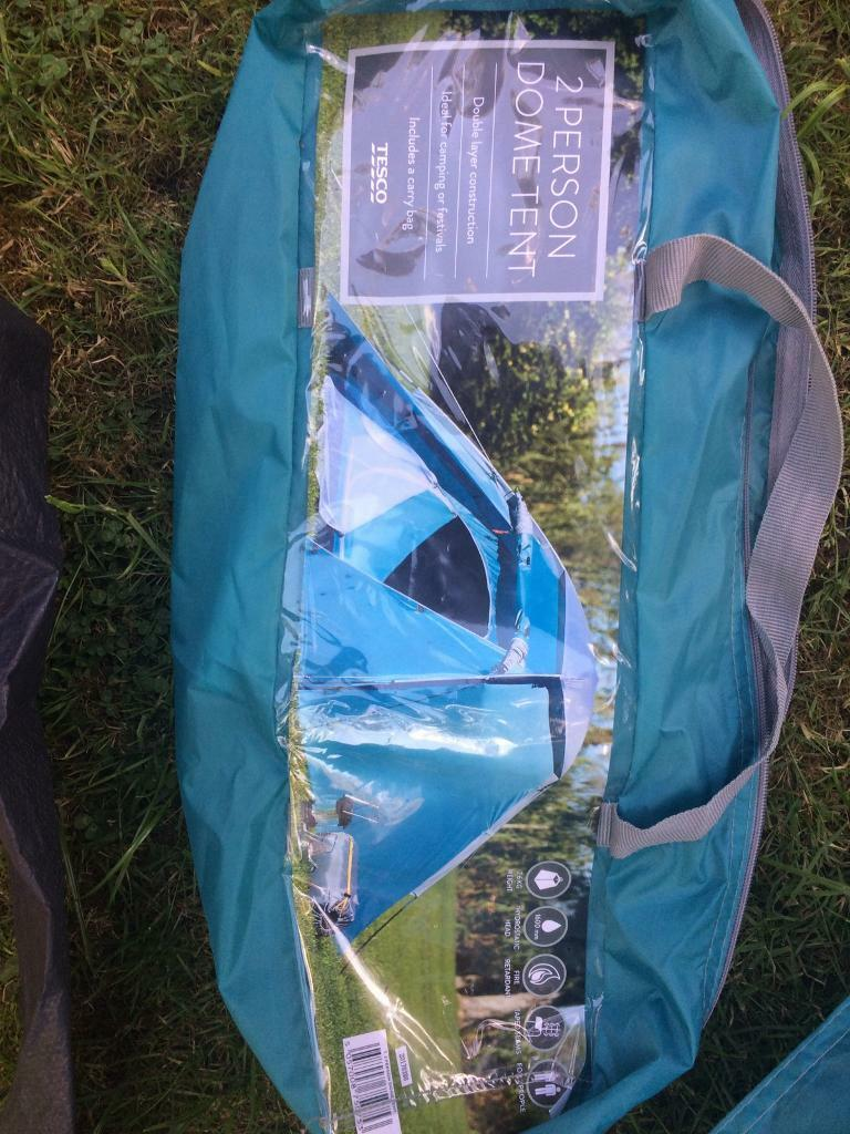 2 man tent in bag - easy to put up