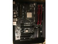 Motherboard/CPU/RAM bundle
