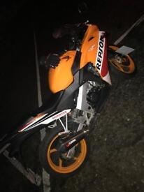 Honda Repsol 125cc 125 Motorbike