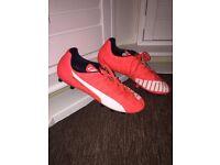 Genuine Puma Evo Speed 5 Football Boots Trainers Size 8 UK (42 EUR)