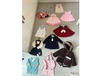 Unworn baby girls clothes bundle (all still with tags)