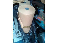 1 X roll of brown paper, backing or wrapping , packing, last one
