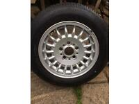 BMW 15 inches with tyre like new