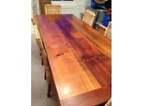 One Of A Kind Australian Eight Seater Dining Table And Chairs