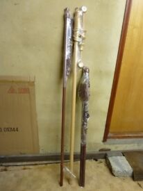 wooden curtain poles new