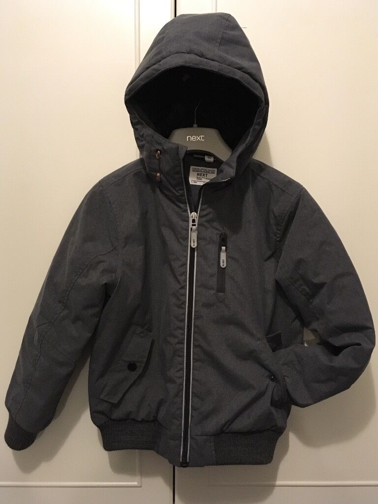 087cedaa47a6 Next Boys Grey Bomber Jacket Coat Age 9yrs
