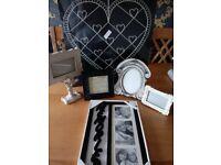 Black and cream photo frame bundle