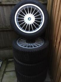 "BMW 17"" Alpina Alloy Wheels"
