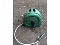 20 metre garden hose with reel