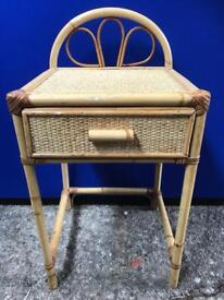 Wicker bedside cabinet with FREE DELIVERY PLYMOUTH AREA