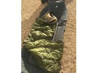 JRC Stealth Bedchair and sleeping bag